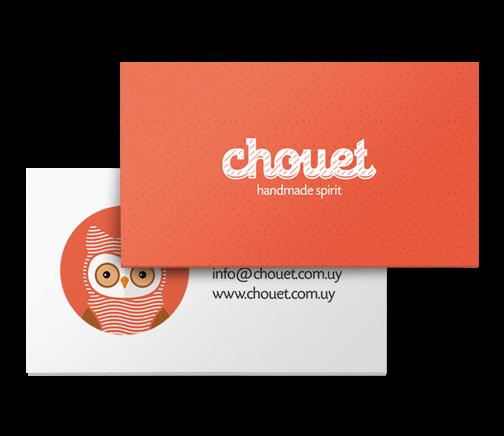 chouet visit card